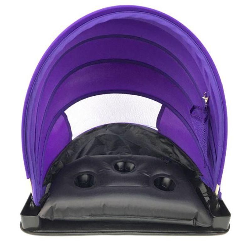 Portable Pliable Parasol Rapide Automatique Ouverture Unique Tente Tente de Protection Solaire Mini Plage Parapluie Parasol Avec Oreiller dans Abri du soleil de Sports et loisirs