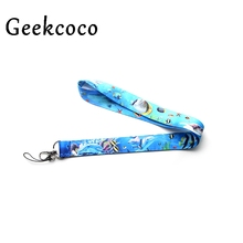 Marine World Blue New Arrive Hot Phone Lanyard Neck Strap With Clip For keychain ID Card Holder Key Chain party gifts J0392