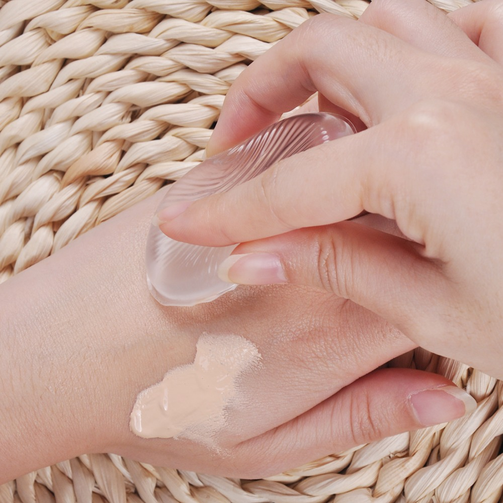 Biutee 5Pcs/10Pcs Jelly Silicone Gel Powder Puff Soft Sponge for Face Foundation BB Cream Beauty Cosmetic Makeup Tool