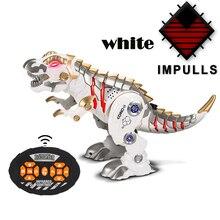 remote control dinosaur kids toy Cool light music intelligent children RC robot mechanical war dragon boy toys FSWOB