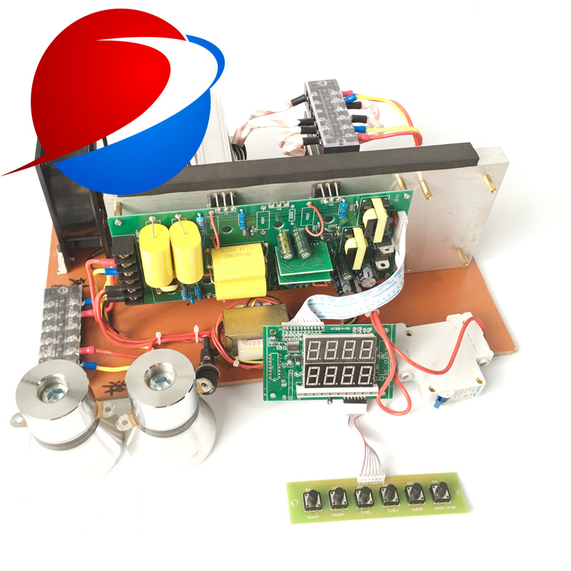 20khz-40KHz 2000W Sweep Frequency Power Supply Circuit Board Ultrasonic Generator PCB For Industrial Ultrasonic Cleaning Machine