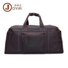 JOYIR Large Genuine Natural Leather Men's Travel Duffle Men Travel bag Laptop briefcase Men business tote handbags Men Bag 6319