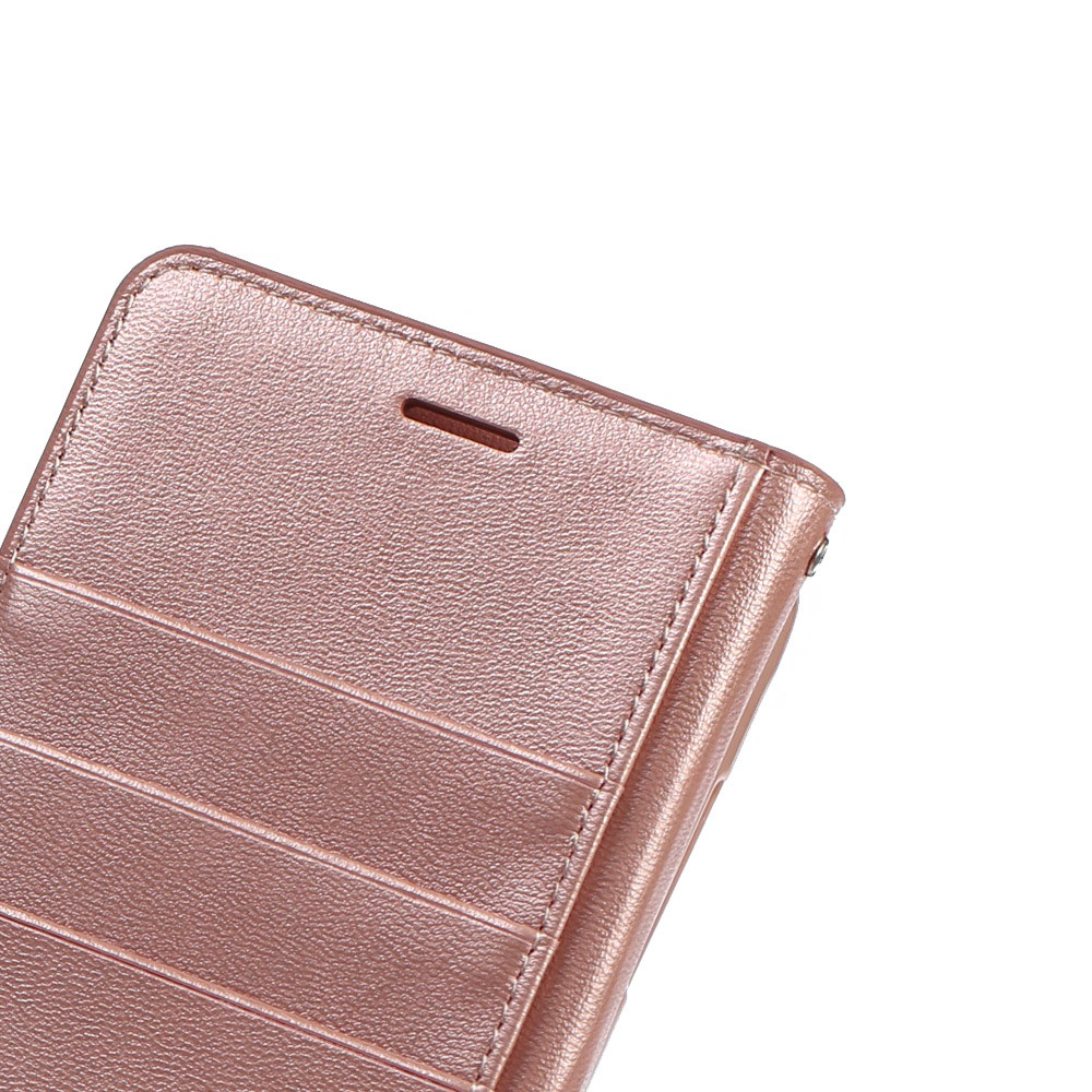 New Hanman Genuine Leather Wallet Flip Case Cover sFor Samsung Galaxy On7 2016 / J7 Prime 5.5 inch Mobile Phone Bags Coque