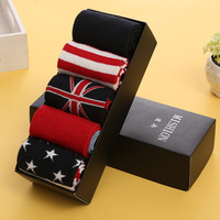 Men Socks Classic Business Brand Hombre Socks Men High Quality Cotton Casual Socks 5 Pairs Lot