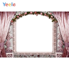 Yeele Wedding Party Decor Curtain Mirror Customized Photography Backdrops Personalized Photographic Backgrounds For Photo Studio