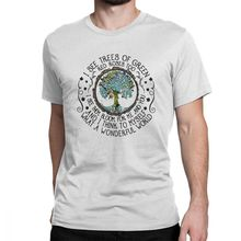 I See Trees Of Green Red Roses Too I See Them Bloo Men T Shirts Wonderful World Casual 100% Cotton Tees T-Shirt 4X 5X Clothes i see trees of green red roses too i see them bloo men t shirts wonderful world casual 100% cotton tees t shirt 4x 5x clothes