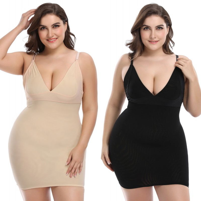 Women Slips 100%REAL SILK Full slips Healthy Under dress Anti emptied Intimates Everyday slip dress Nude Black White New