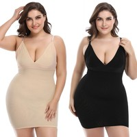 Women Slips 100%REAL SILK Full slips Healthy Under dress Anti emptied Intimates Everyday slip dress Nude Black White New