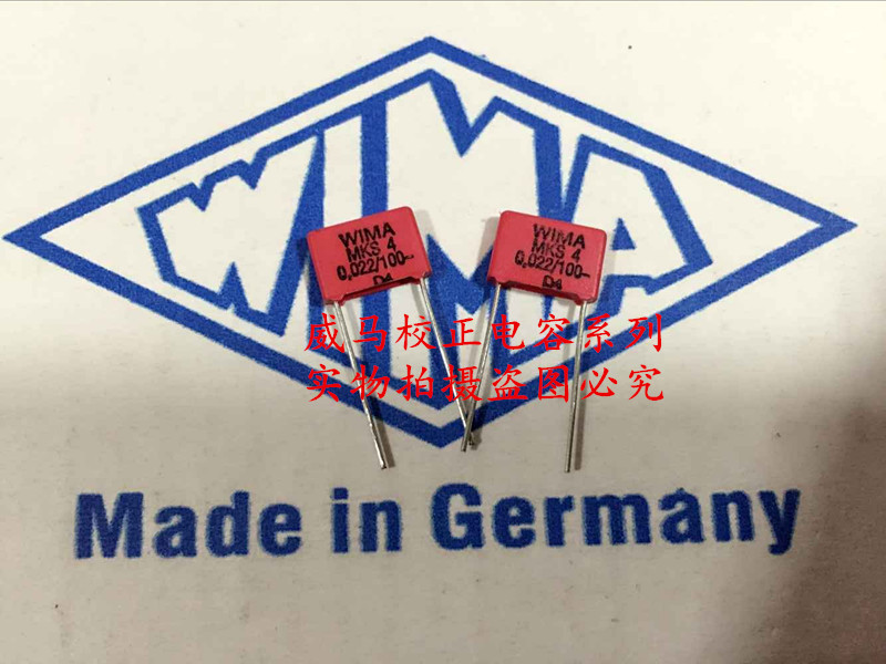 2019 Hot Sale 10pcs/20pcs German Capacitor WIMA MKS4 100V 0.022UF 100V 223 22NF P: 7.5mm Audio Capacitor Free Shipping