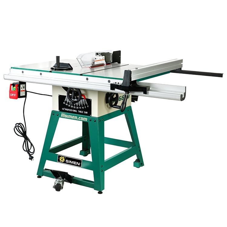 Ambitieus 1500 W Professionele Grade 10-inch Tafelcirkelzaag Machine H36650 Hout Zagen Glanzend Oppervlak