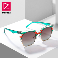 44e2b6bf291 DENISA Fashion Polarized Sunglasses Men Women Driving Sun Glasses Male  Square Glasses Polaroid UV400 zonnebril mannen G55944