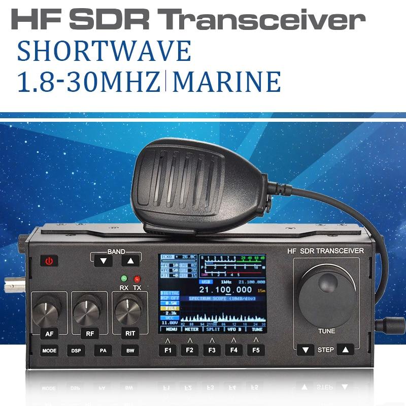 Shortwave radio station 5W 1-30M MCHF MCHF-QRP SDR Transceiver