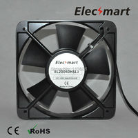 AC220V 200mm 200mm 60mm 2 Pin Connector Cooling Fan For Computer Case CPU Cooler Radiator