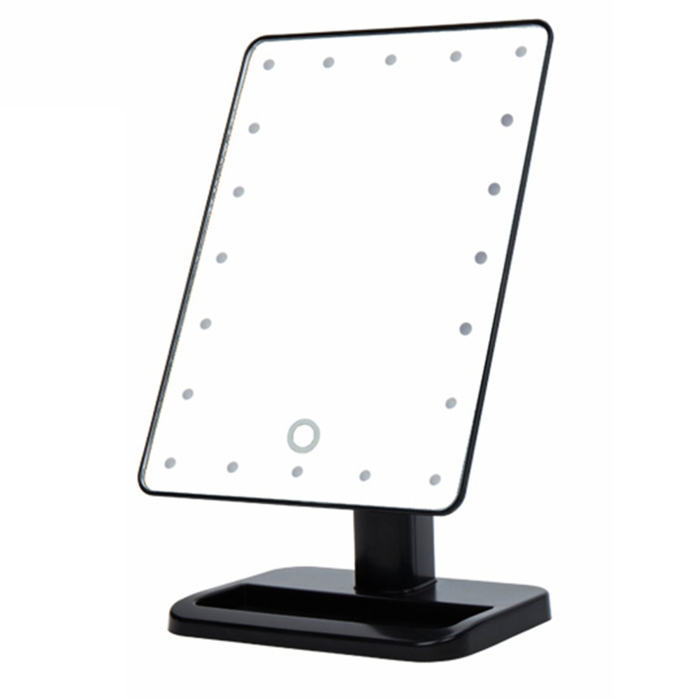 360 Degrees LED Touch Screen Mirrors Women Make up Cosmetics Mirror with illumination Table Leds Lighted Vanity Mirror Dropship 360 degrees led touch screen mirrors women make up cosmetics mirror with illumination table leds lighted vanity mirror dropship