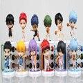 8 Estilo Anime Kuroko Baloncesto kuroko no Basket tetsuya Basuke Edición El quinto Acción PVC Figure Collection Modelo de Juguete