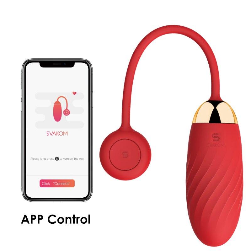Original Ella Vaginal Balls Sex Toys For Women Wireless Phone APP Control Love Kegel Ball Vibrator Erotic Adult Egg Massager