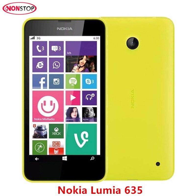 Unlocked Original Nokia Lumia 635 Cell Phone Windows Phone 4.5