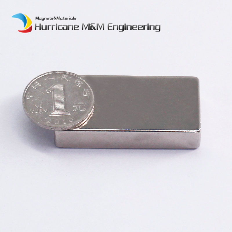 1 Pack NdFeB Block 50x25x10 mm Tool Holding Magnet 1.97 Bar Strong Neodymium Permanent Magnets Rare Earth Lifting Magnets N42 arrival 8pc 50 25 12 5mm craft model powerful strong rare earth ndfeb magnet neo neodymium n50 magnets 50 x 25 12 5 mm