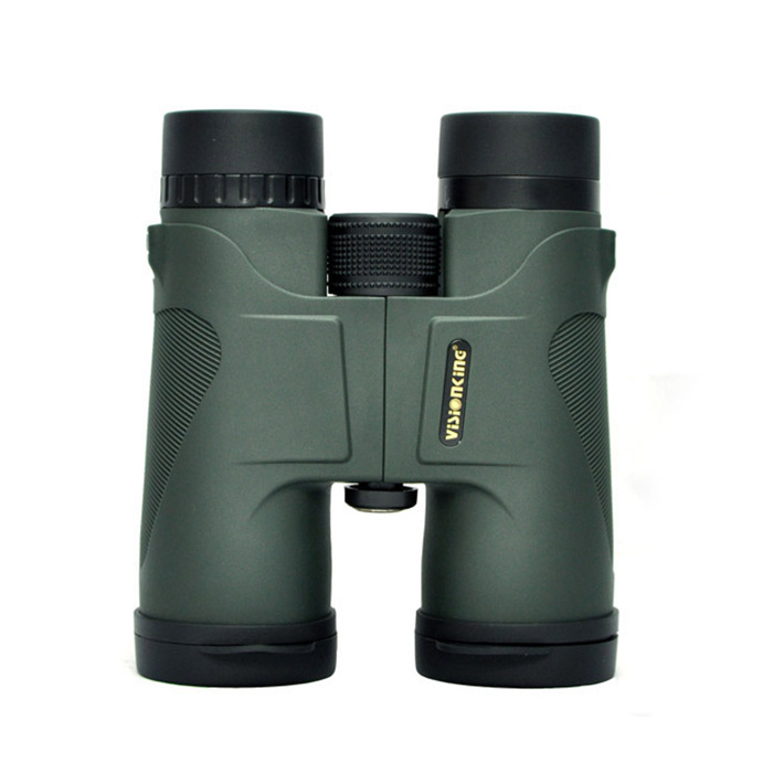Visionking Military HD 10x42 Binoculars Professional Hunting Telescope Zoom High Quality Vision No Infrared Eyepiece Army Green asika military hd 10x42 binoculars professional hunting telescope zoom high quality vision eyepiece powerful compact waterproof