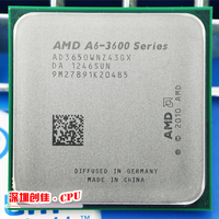 Free shipping AMD a6 3650 2.6GHz 4MB 100W quad core CPU processor FM1 shipping free scrattered pieces A6 3650 APU