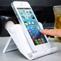 Mobile Phone Stand Flexible Desk Phone Holder for iPad iPhone Samsung Sony Xiaomi Huawei White Black Color Universal