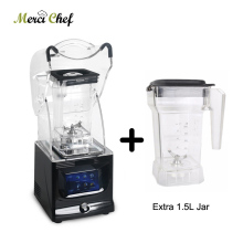 ITOP 1.5L  Professional Power Blender Mixer Commercial Bpa Free Ice Smoothie Blender Juicer Food Processor With One More Jar Cup цена и фото