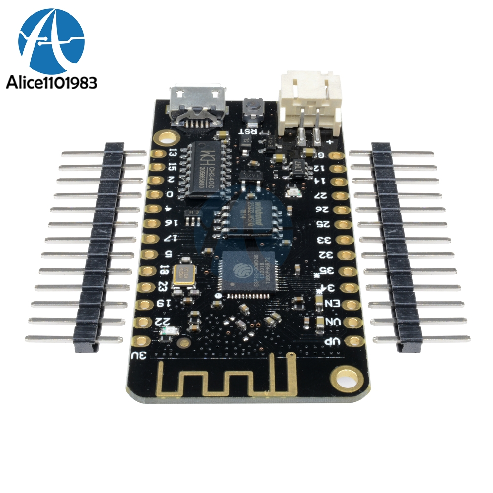 LOLIN32 WiFi Bluetooth ESP32 ESP-32 CH340G MicroPython Lithium Battery Interface