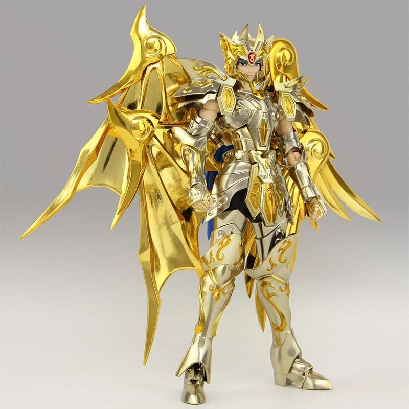 Great toys EX Soul Of Gold Sog Gemini SaGa Saint Seiya Metal Armor Myth Cloth Action Figure Collection Toys