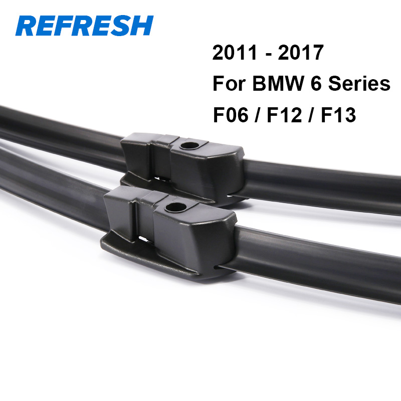 REFRESH Щетки стеклоочистителя для BMW 6 серии E63 E64 F06 F12 F13 630Ci 630i 645Ci 640i 650i 635d 640i 640d 640d xDrive M6 - Цвет: For BMW F06 F12 F13