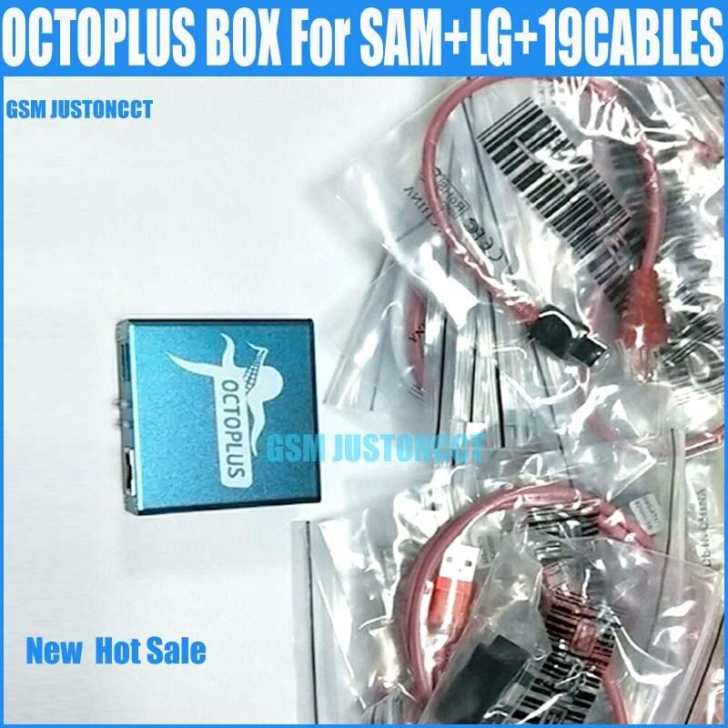 La nouvelle version 100% boîte de poulpe d'origine pour Sam & LG complet avec 19 câbles avec câble Optimus