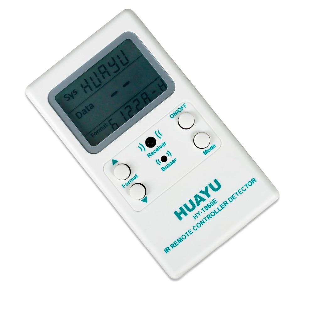 1pcs TV IR Remote Control Decoder Tester Infrared Remote Control Testing  Decoder Tester Detector