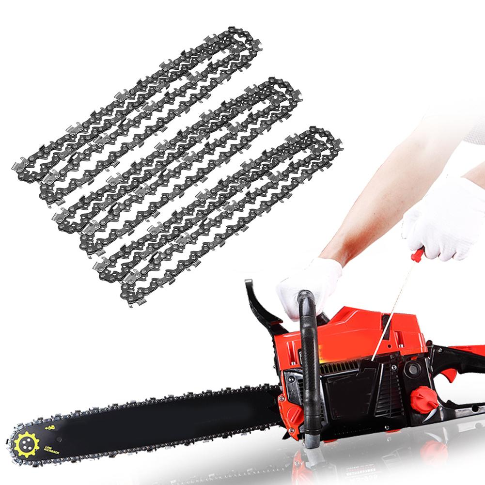 3pcs High Quality 20 Inch Black Metal 325 058 76DL Chainsaw Chain Saw Replace For Baumr-Ag SX62 Electrical Tools Accessories
