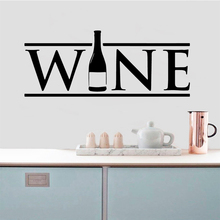 Fun wine Family Wall Stickers Mural Art Home Decor Living Room Children Decoration Decal Murals