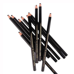 Image 3 - 2 adet Lapis Dermatografico Dermograph mitsubishi Uni siyah işaretleyici kalem 7600 Microblading aksesuarları dövme malzemeleri kaş