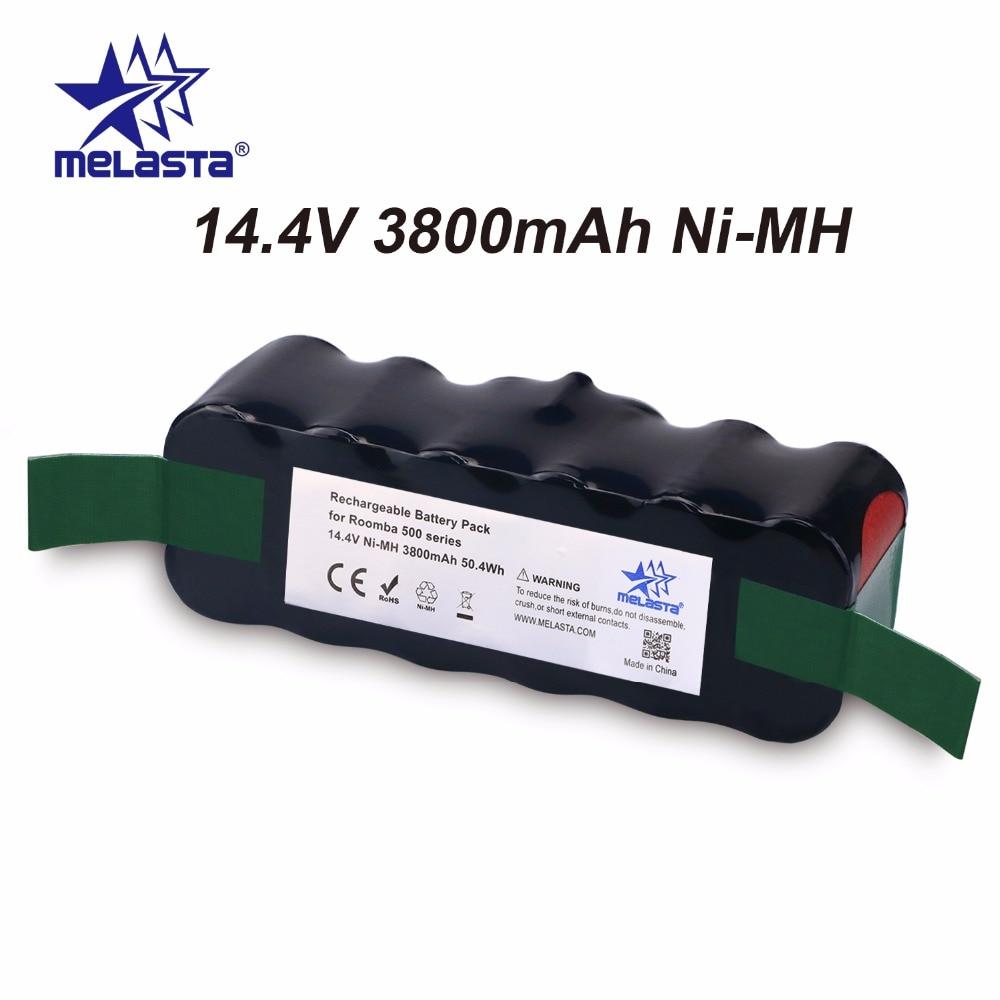 цена на Updated Capacity 3.8Ah 14.4V NIMH battery for iRobot Roomba 500 600 700 800 Series 510 530 550 560 620 650 770 780 870 880 R3