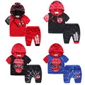 Marvel Comic Classic Spiderman Child Costume Sports suit 2 pieces set Tracksuits Kids Clothing sets Coat+Pant for 2-8y