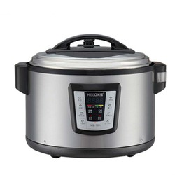Commercial Large Capacity 11L Rice Cooking Machine Multifunction Timing Rice Cooker Steamer Heat Preservation Food Cooker