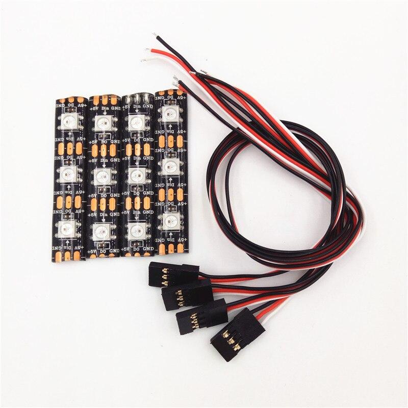 Mavlink LED Light for Smart Remote Controller Intelligent Controller for Apm 2.5 2.6 2.8 Pixhawk Pixhack WS2812 Flight Control