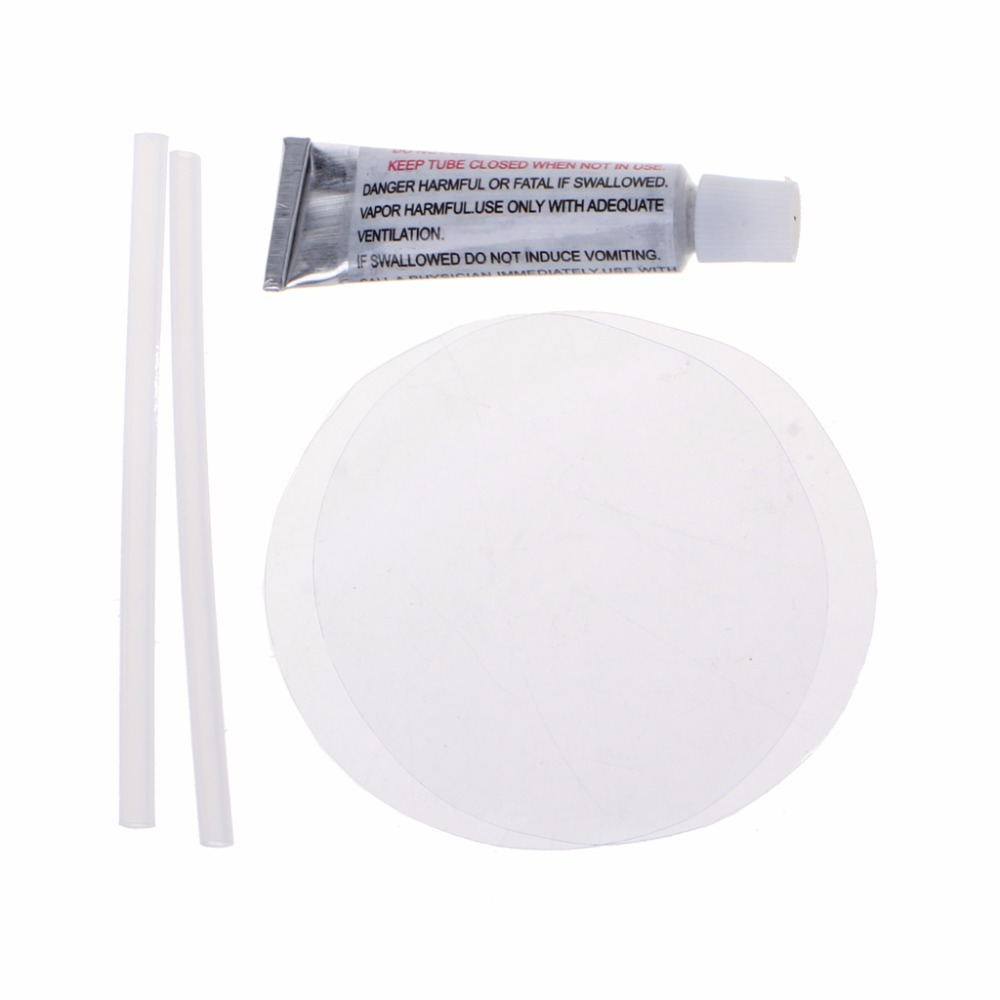 New Clear PVC Patch Vinyl Glue Repair Kit for Inflatables ...