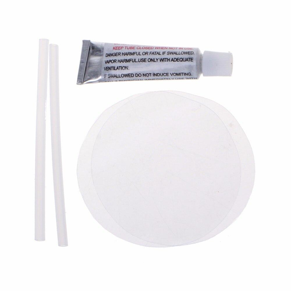 Nouveau Pvc Transparent Patch Vinyle Colle Kit De Reparation Pour Gonflables Waterbed Matelas D Air Aliexpress