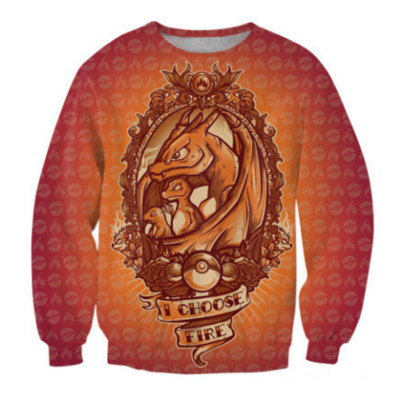 unisex-spring-sweatshirt-women-men-i-choose-fire-jumper-font-b-pokemon-b-font-charmander-charmeleon-charizard-character-crewneck-tops