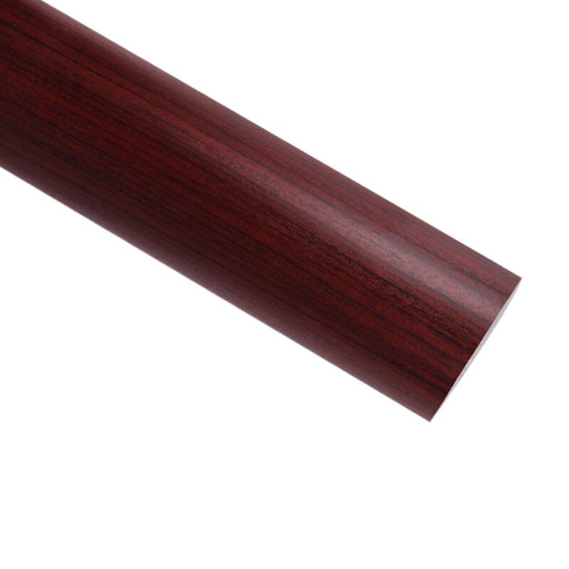 Épaississement pvc armoires de cuisine autocollants étanche grain du bois papier peint/étanche meubles wallpaper-W1550