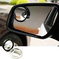 2 unids/lote 2016 Nuevo Coche de 360 Grados espejo Auto Ayuda del Estacionamiento sin Zona Muerta Espejo Punto Ciego espejo para el estacionamiento de Lluvia sombra