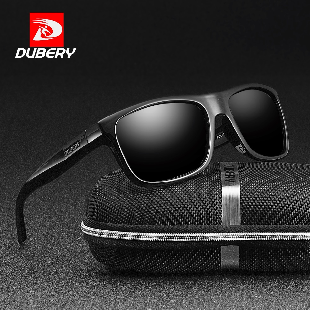 0ae4f881b61052 DUBERY Polarized Sunglasses Men Driving Shades Male Retro Sun Glasses For  Men Mirror Goggle Brand Design