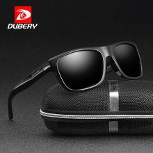 DUBERY Polarized Sunglasses Men Driving Shades Male Retro Sun Glasses
