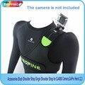 Frete grátis!! acessórios preto alça de ombro alça de ombro único para gitup, sj4000 câmera, câmera gopro hero 3 +/3/2/1, xiaoyi câmera