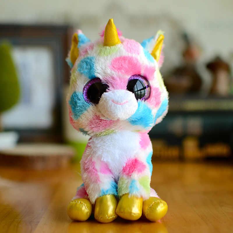 Wol Relic Panda gorro de mono peluche muñeca Ty Boos juguetes para niña muñeca tortuga murciélago animal precioso búho unicornio gato navidad niños regalo