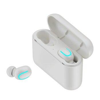 TWS Wireless Bluetooth 5.0 Sport Mini Earbuds Earphone wireless sports bass bluetooth earphone with mic