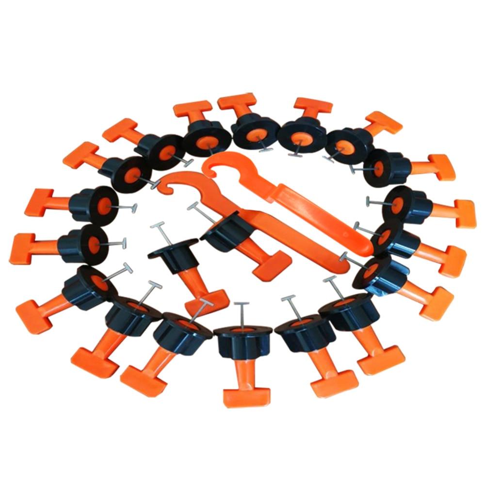 50pcs/set Tile Alignment Tile Leveling System Carrelage Clip Adjustable Locator Spacers Plier Level Wedges Hand Tools