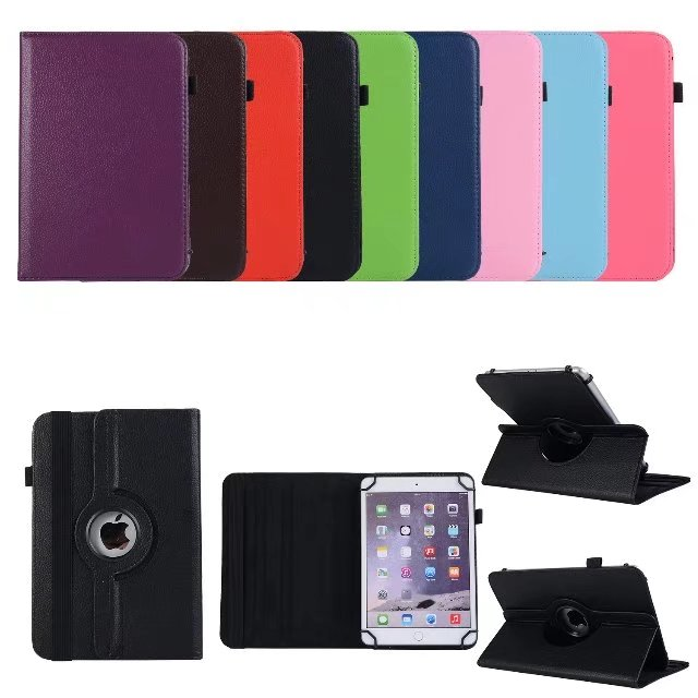 Free Shipping For Huawei T5 10 PU Leather 360 Rotating Stand Cover Case For Huawei Mediapad T5 10 AGS2-W09/L09/L03/W19 10.0+Pen